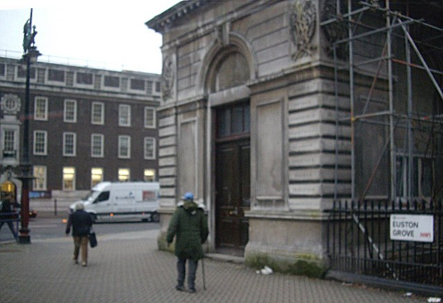 A former Exit Gatehouse from Euston Station