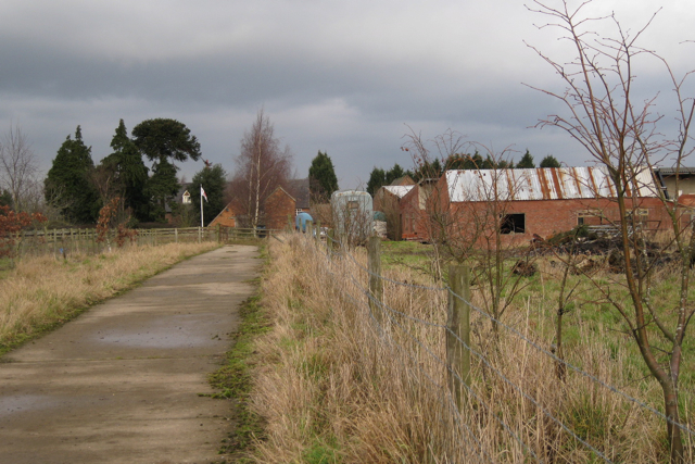 Drive to Furzen Hill Farm
