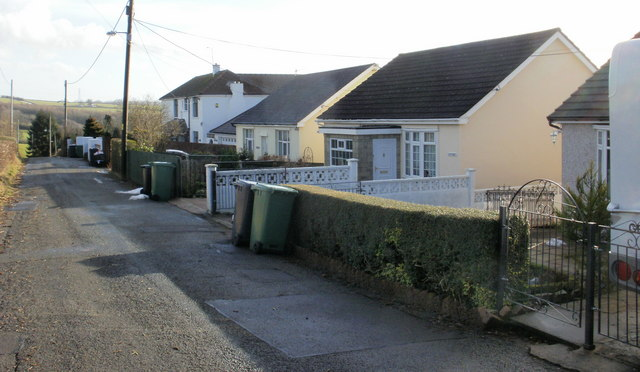 Church Lane - houses end here