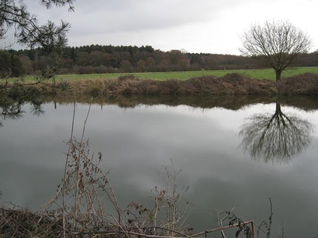Reservoir north of Furzen Hill Farm