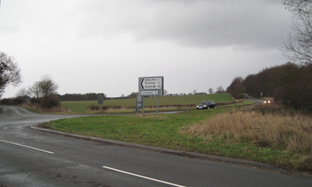 Junction of Coventry Road and Leicester Lane A445
