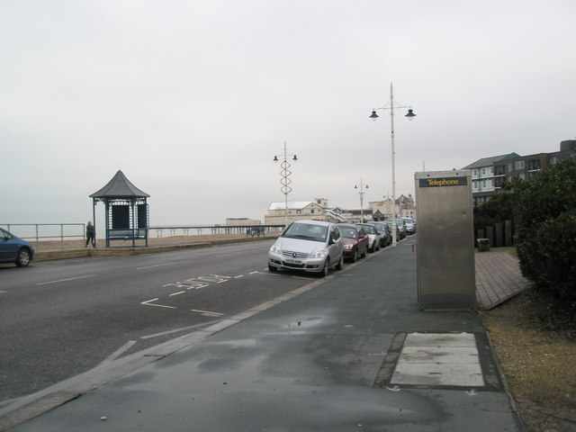Looking from The Regis towards The Pier