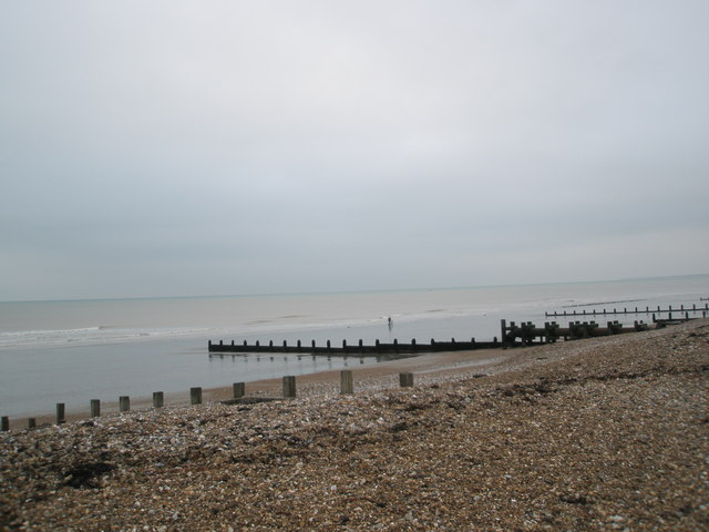 Groynes on Bognor Beach