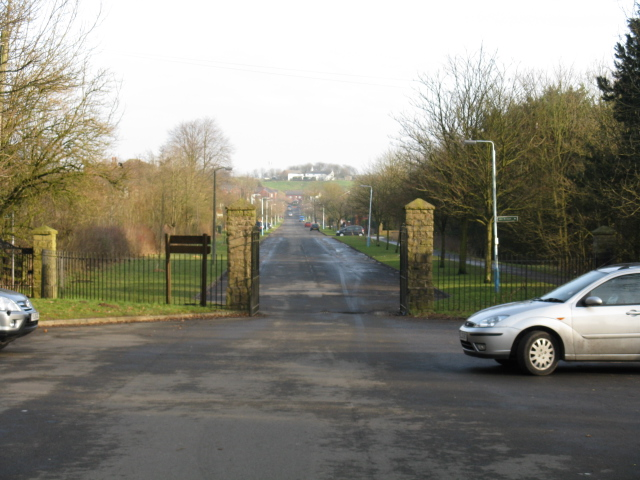 Entrance To Tandle Hill Park