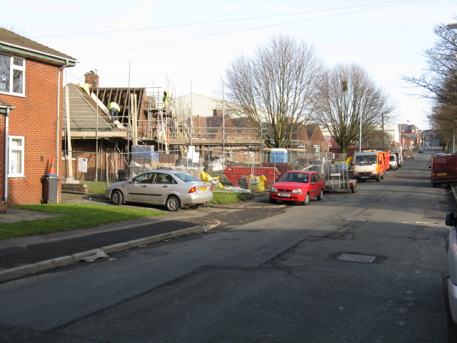 Royton - House Construction On Bleasdale Street