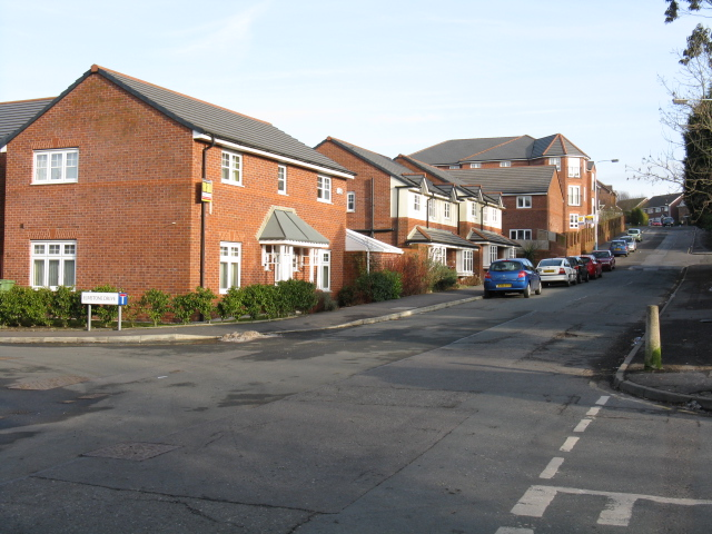 Royton - New Housing On Bleasdale Street