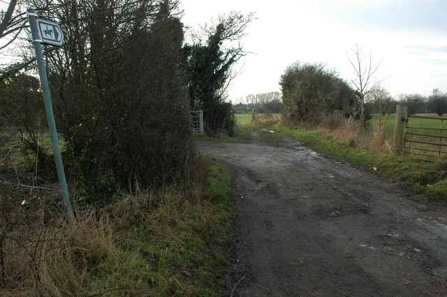 Bridleway to Wickhamford