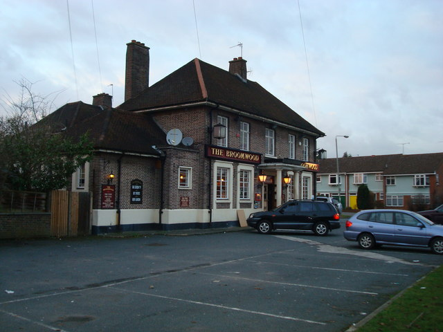 The Broomwood public house, St Paul's Cray