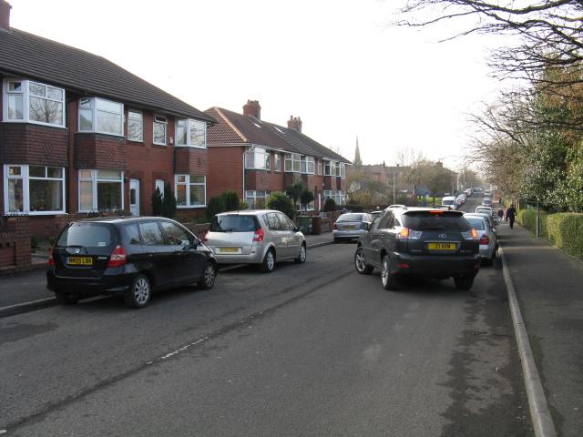 Royton - Radcliffe Street, Looking Southwest