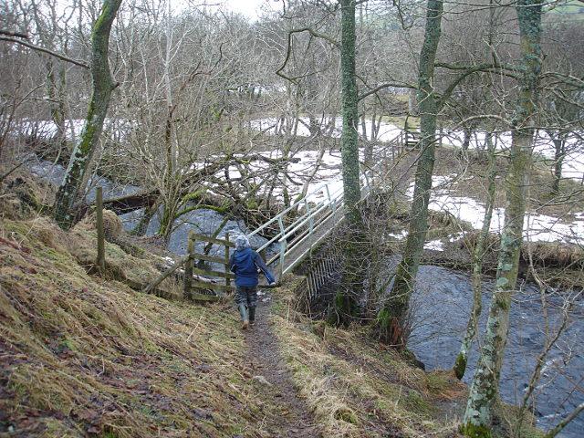 Footbridge over Scar Beck