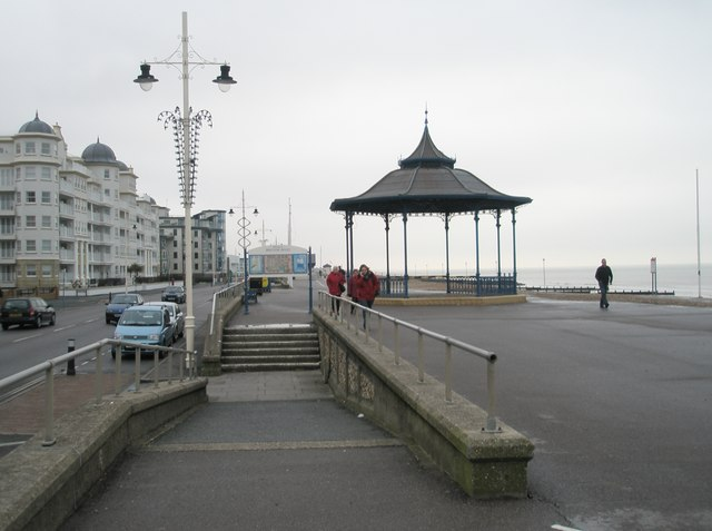 The bandstand on Bognor Esplanade