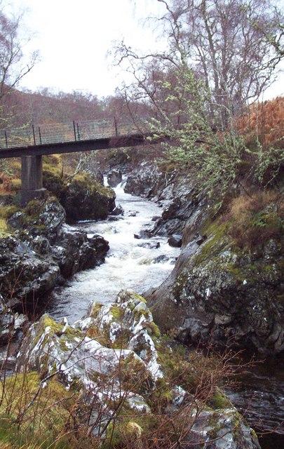 Bridge Over Abhainn Dubhag