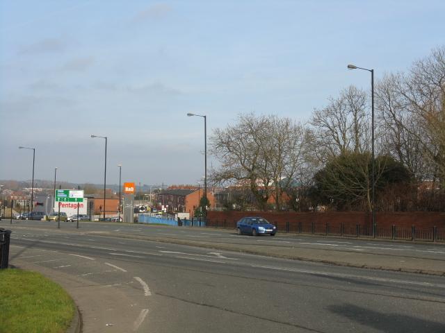 Chadderton - Toward Boundary Park Road