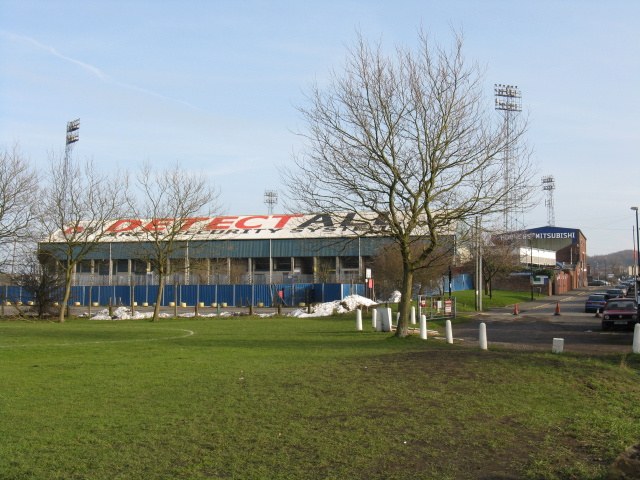 "Boundary Park - The ""Chaddie End"""