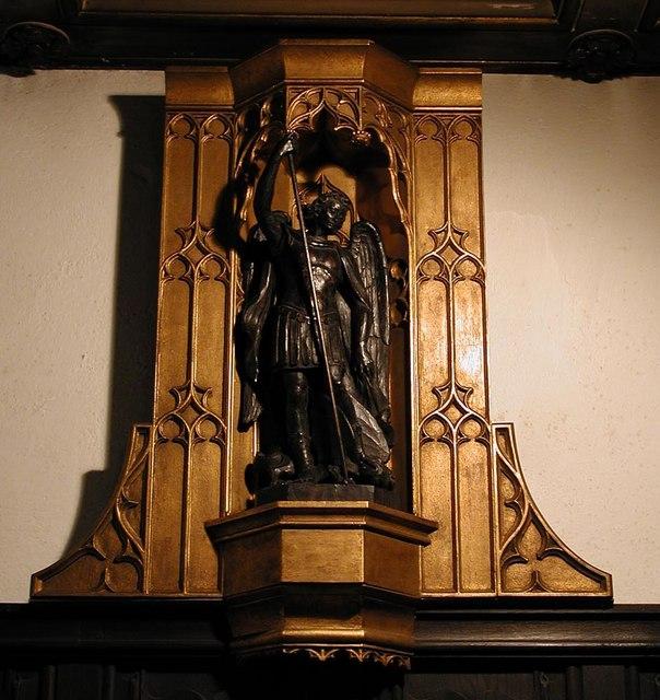 St Augustine, Archway Road, Highgate, London N6 - Statue