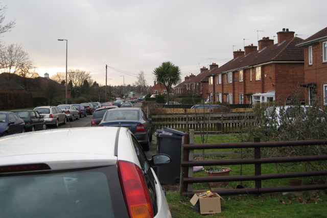 Houses, Rugby Road