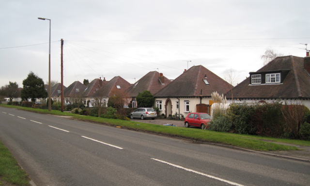 Bungalows, Rugby Road