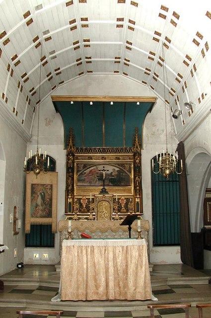 St Augustine, Archway Road, Highgate, London N6 - Lady Chapel