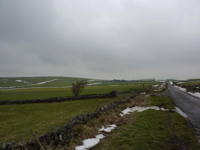 Lane from Wheston
