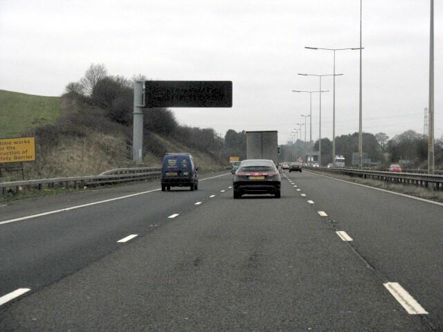M5 Motorway - North Of Junction 4