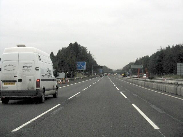 M5 Motorway Near Lyeclose Farm