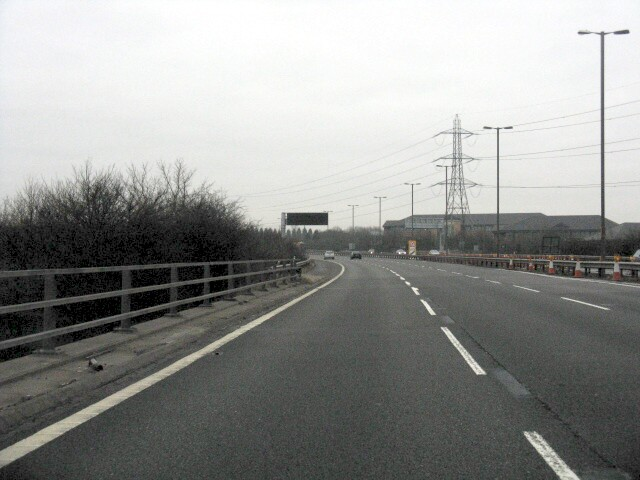 M5 Motorway - At Junction 3