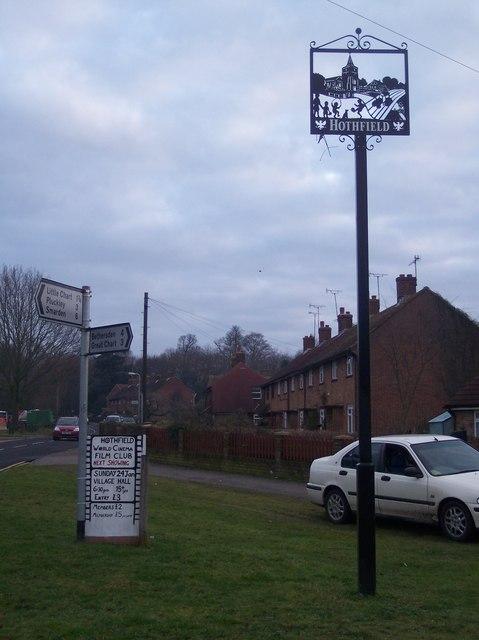 Hothfield Village Sign