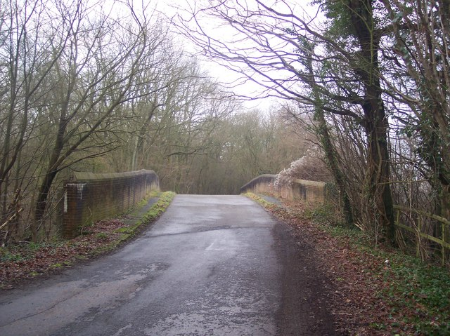 Bethersden Road bridge over the Railway