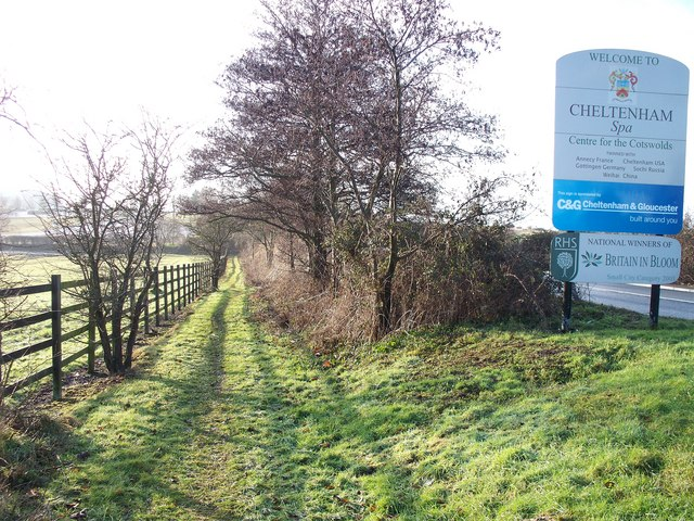 Cheltenham footpath