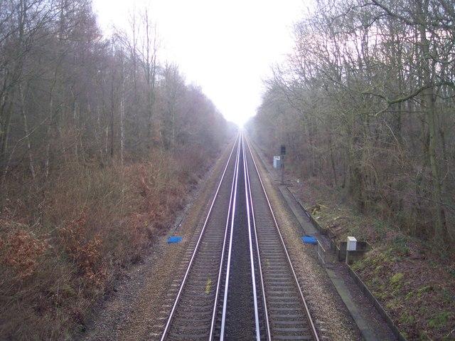 Railway to Ashford