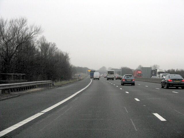 M6  Motorway Near Otherton