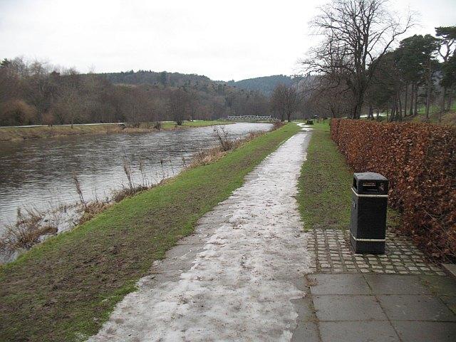 River Tweed, Hay Lodge Park