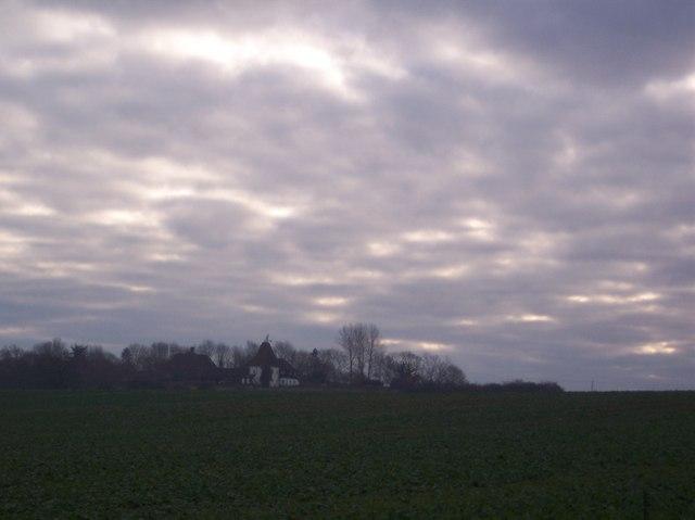 Dark Skies over Goldwell Oast House