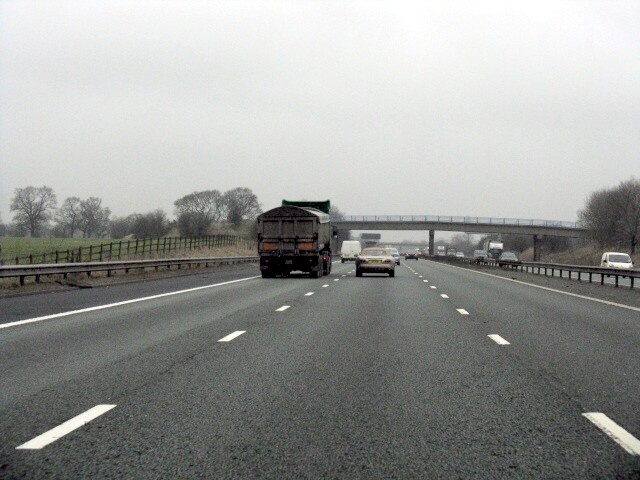 M6 Motorway - Green Bank Farm Bridge