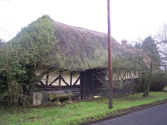 Thatched Barn near Winter's Farm