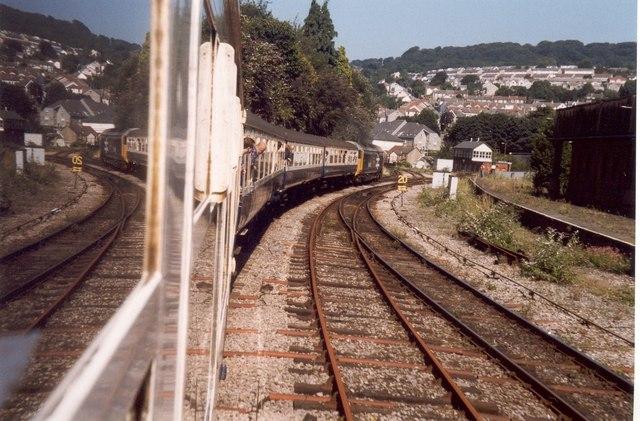 Reflections of Pontypridd Station
