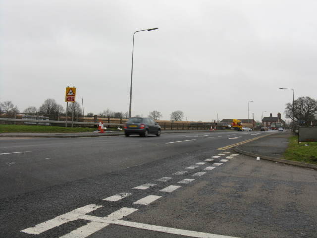 A534 At The M6 Junction
