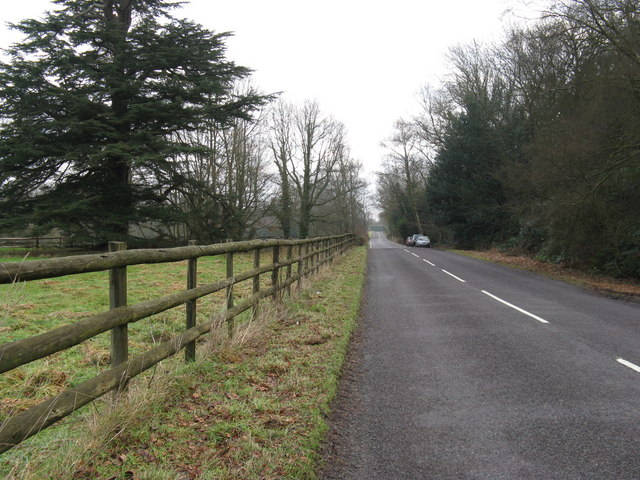 East along the Plaistow road