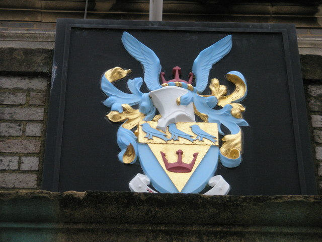 Coat of arms on Bognor Town Hall