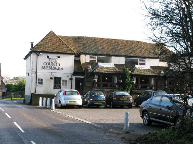 County Members pub at Lympne