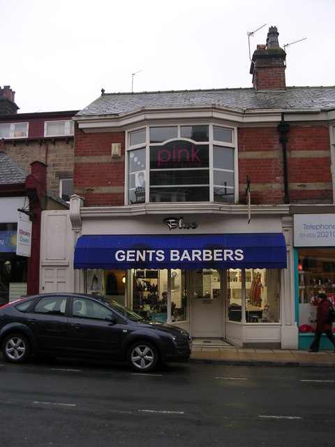 Blue Gents Barbers - Commercial Street