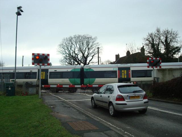 Level crossing, Cooksbridge