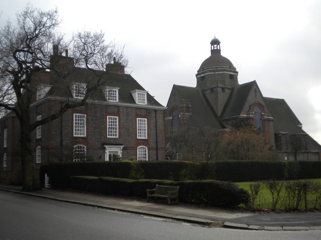Hampstead Garden Suburb Free Church and the Manse, North Square NW11