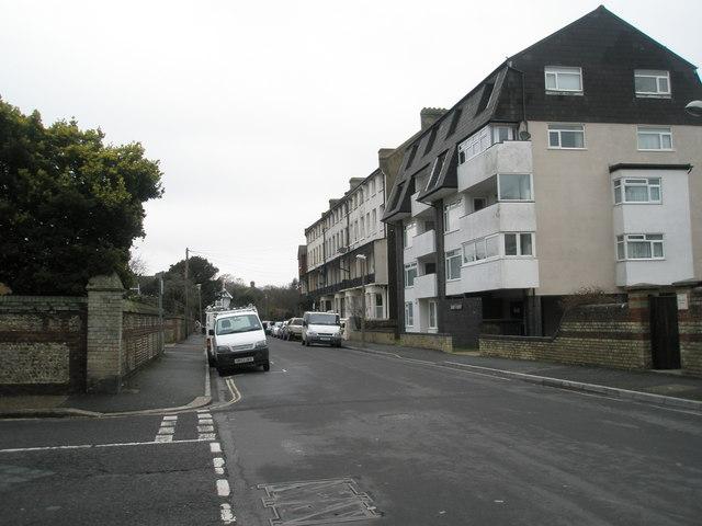 Junction of Belmont Street and Albert Road