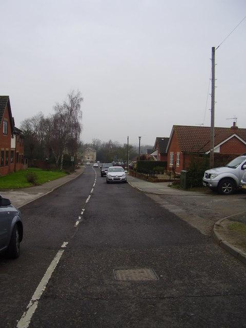 Church lane Claydon
