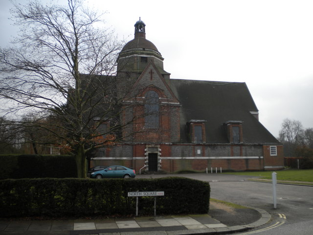 Hampstead Garden Suburb Free Church, North Square NW11