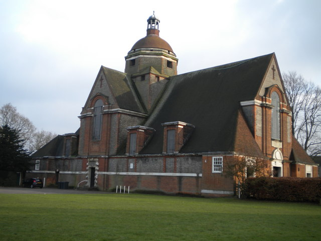 Hampstead Garden Suburb Free Church from North Square NW11