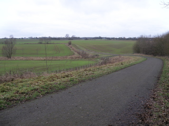 Field track and bridleway near Bulwick