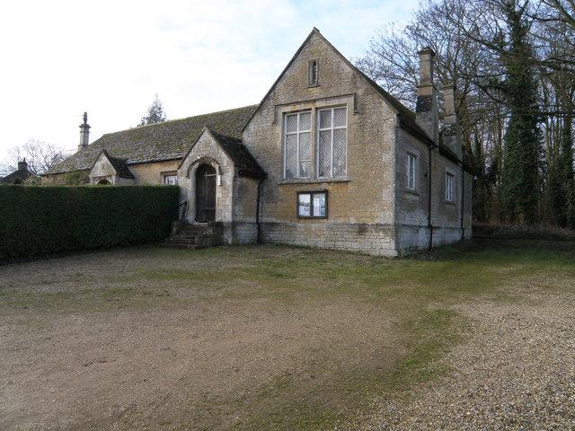 Parish hall at Deene