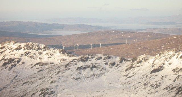 The Binnein an Fhìdhleir ridge